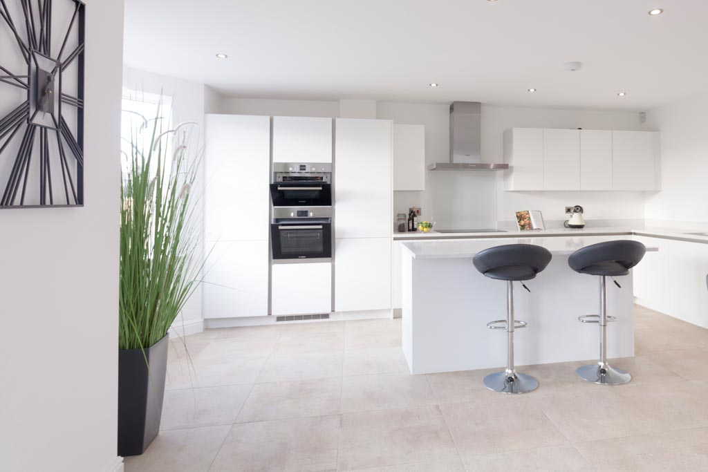Show home kitchen photograph