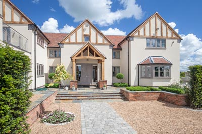 property photography - exterior shot leicestershire