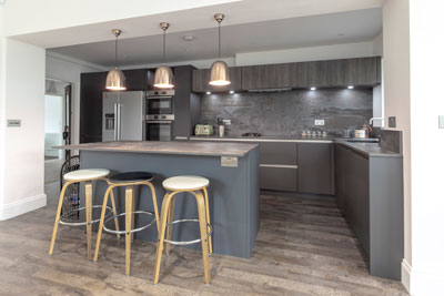 Professional interiors and kitchen photography Leicester